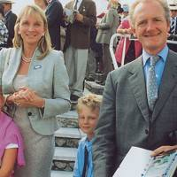 Isobel Macdonald-Buchanan, Mrs Alastair Macdonald-Buchanan, James Macdonald-Buchanan and Alastair Macdonald-Buchanan