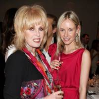 Joanna Lumley and Nadya Abela
