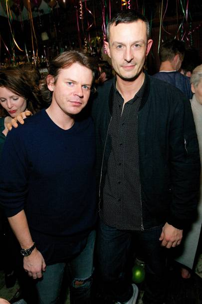 Christopher Kane and Jonathan Saunders