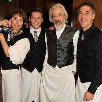 Emma Thompson, Allen Leach, Roger Lloyd-Pack and Greg Wise