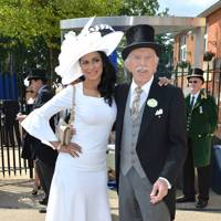Wilnelia Merced and Bruce Forsyth