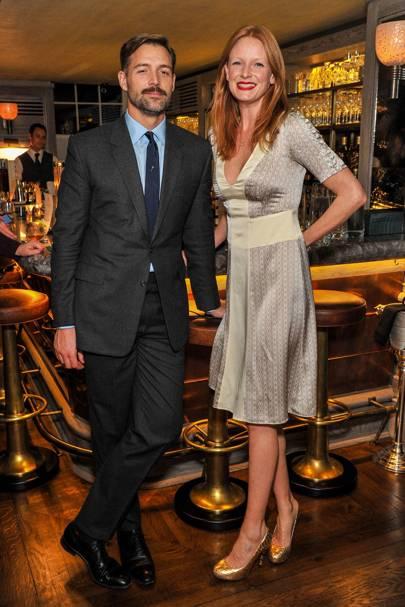 Patrick Grant and Olivia Inge