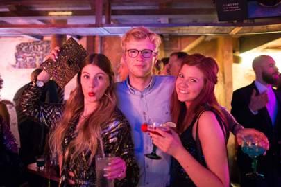 Katie Thomas, Nick Hayne and Lizzie Calow