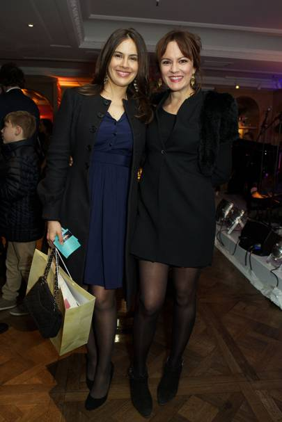 Sophie Windsor and Rachael Stirling