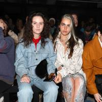Daisy Maybe and Bee Beardsworth at Faustine Steinmetz A/W18