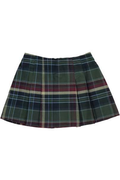 Amaia Kids tartan skirt