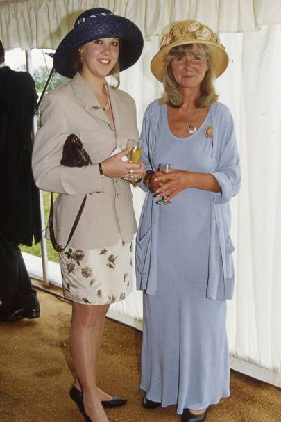 Louise Potter and Jilly Cooper