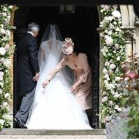 Michael Middleton, Pippa Middleton and the Duchess of Cambridge