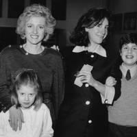 Mrs Frank Partridge, Charlotte Partridge, Mrs Danilovich and John Charles Danilovich