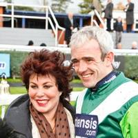 Ruby Wax and Ruby Walsh