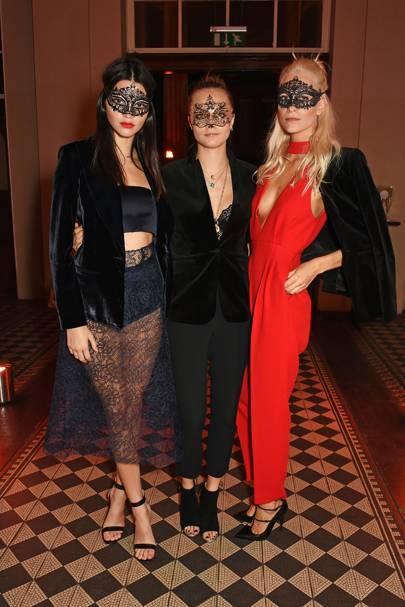Poppy Delevingne, Cara Delevingne and Kendall Jenner