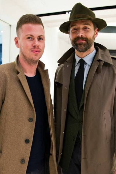 Michael Hennegan and Patrick Grant