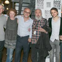 Patrick Drury, Kelly Hunter, Stephen Unwin, Pip Donaghy, Mark Quartley and Florence Hall