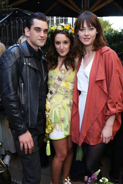 James Kelly, Rosanna Falconer and Martine Lervik