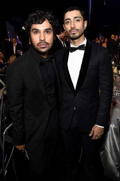 Kunal Nayyar and Riz Ahmed