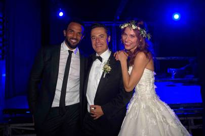 Craig David, Justin Etzin and Lana Etzin