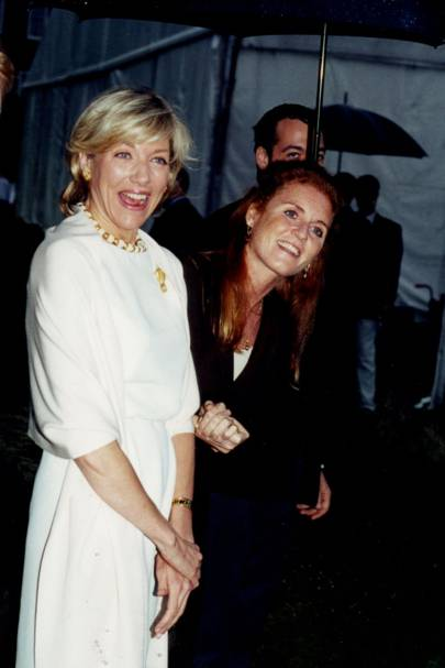Lynn Forester and Sarah, Duchess of York