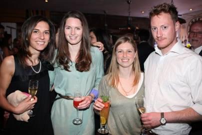 Katrina Kutchinsky, Sarah Bellingham, Anna Templeton and Ruaridh Emslie