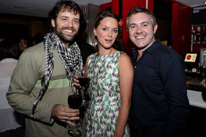 Renato Rocha, Amie Burns Walker and James Farrell