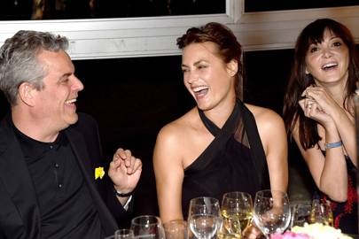 2014: With Danny Huston and Yasmin Le Bon at the Marie Curie Timeless party at Masterpiece