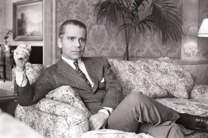 Karl Lagerfeld in 1983