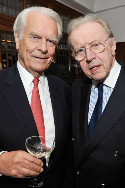 Lord David Owen and Sir David Frost