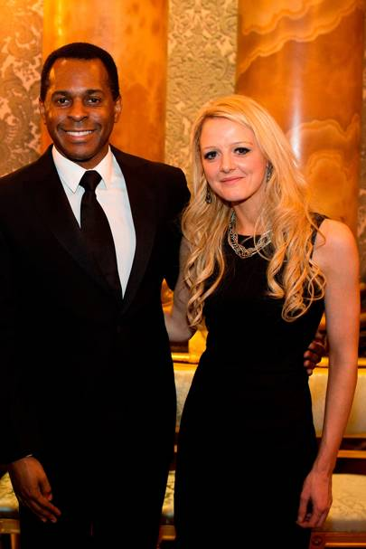 Andi Peters and Hayley O'Sullivan