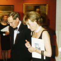 The Duke of Gloucester and Lady Chadlington