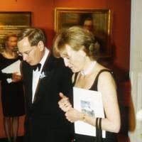 The Duke of Gloucester and Lady Chadlington