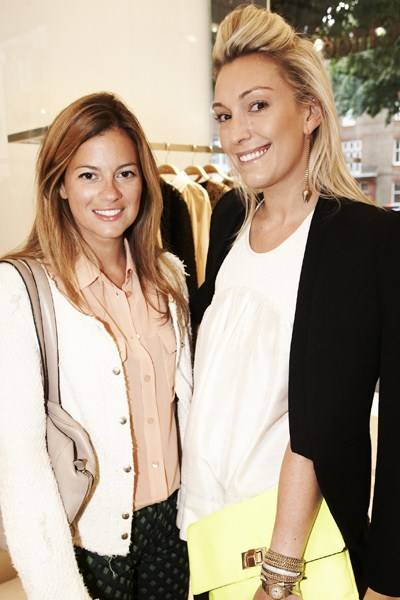 Serena Nikkhah and Olivia Buckingham