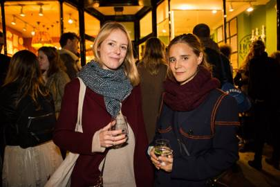 Lucy Wilks and Beata Heuman