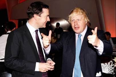 George Osborne and Boris Johnson