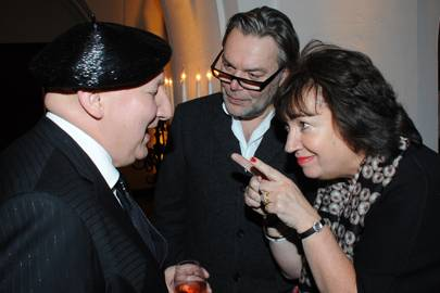 Stephen Jones, David Downton and Paula Fitzherbert