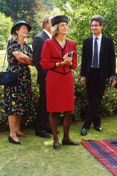 Mrs White, Mrs Andrew Stafford Deitsch and Andrew Stafford Deitsch