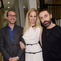Gianluca Longo, Lauren Santo Domingo and Giambattista Valli