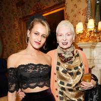 Alice Dellal and Vivienne Westwood