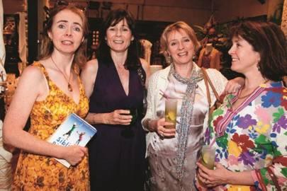 Cordelia Fraser, Lucy Hervey-Bathurst, Libby Russell and Katy Rowan