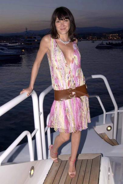 2003: At Pascal Mauawad's boat party during Cannes Film Festival