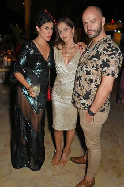 Diana Gomez, Yasmin Mills and Justin Horne