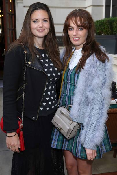 Lady Natasha Rufus Isaacs and Lady Violet Manners