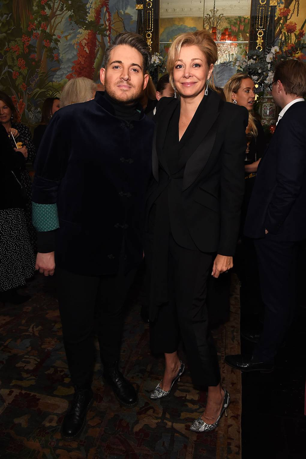 A night of glamour at the Tatler X Swarovski party at Annabel's