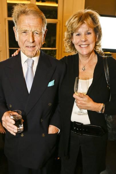 Edward Fox and Nicky Stafford