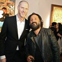 Jean-David Malat and Mr. Brainwash