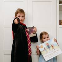 Stefan Piotrowski and Janina Piotrowski as Harry Potter and 'We're Going on a Bear Hunt'