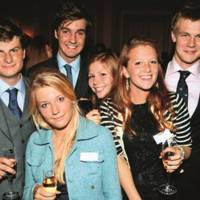 Hugh Wyatt, Laura Anthony, Olivia Amphlett, Connie Birch, Emily Humphreys and Christopher Jarvis