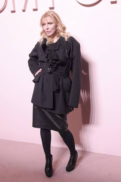 Courtney Love attends Tom Ford