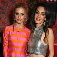 Laura Bailey and Amal Clooney