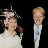 Mrs Jonathan Harvey and Richard Smiley