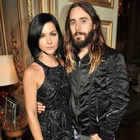 Leigh Lezark and Jared Leto