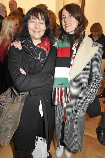 Karma Nabulsi and Bella Freud